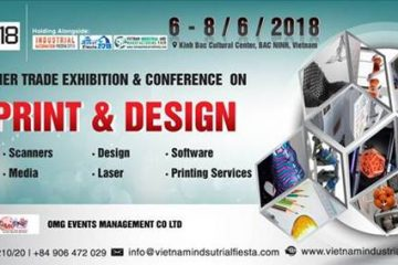 Vietnam Industrial & Manufacturing Exhibition (VIMF) 2018 in Bac Ninh.