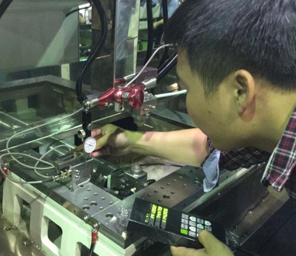 lắp đặt máy cắt dây CNC