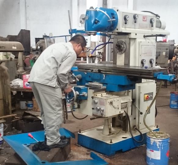 bảo trì máy phay, bảo dưỡng máy phay CNC