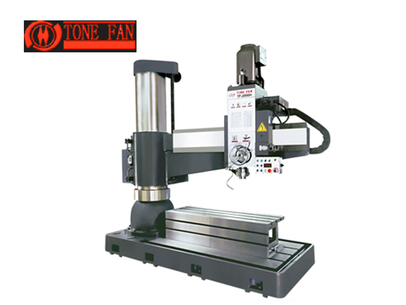 NC radial  drilling machine