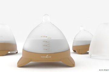 Máy quét 3D được sử dụng trong một thiết kế độc đáo để tạo nên bình sữa cho trẻ em