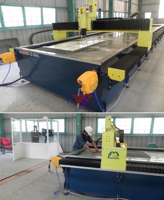 So sánh máy cắt tia và nước máy cắt laser