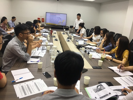 CAD/CAM VIỆT NAM tổ chức khóa tập huấn tiêu chuẩn ISO