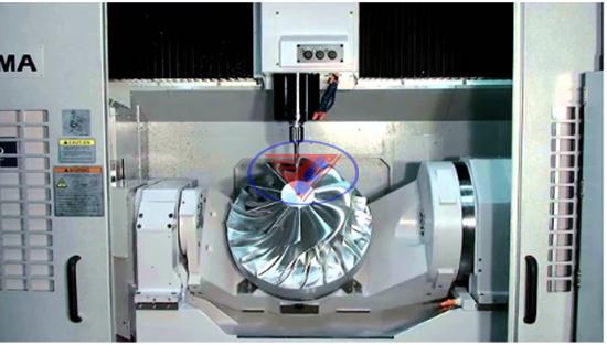 máy phay 5 trục CNC