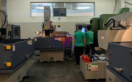 Bảo dưỡng máy CNC