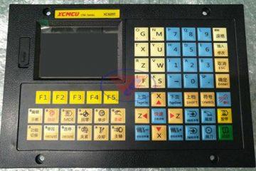 Bảng điều khiển máy tiện cnc XC609T