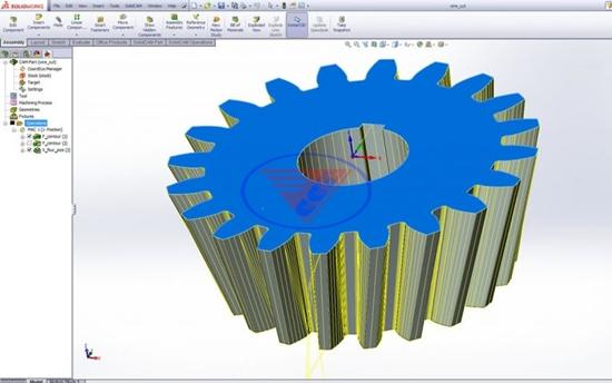 Phần mềm máy cắt dây CNC SolidCAM