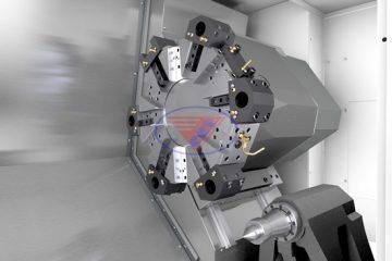 Máy tiện CNC Mazak trong gia công cơ khí