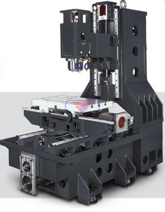Cấu tạo của máy phay CNC 3 trục
