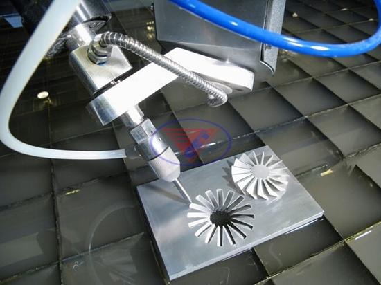 Cấu tạo của máy cắt tia nước